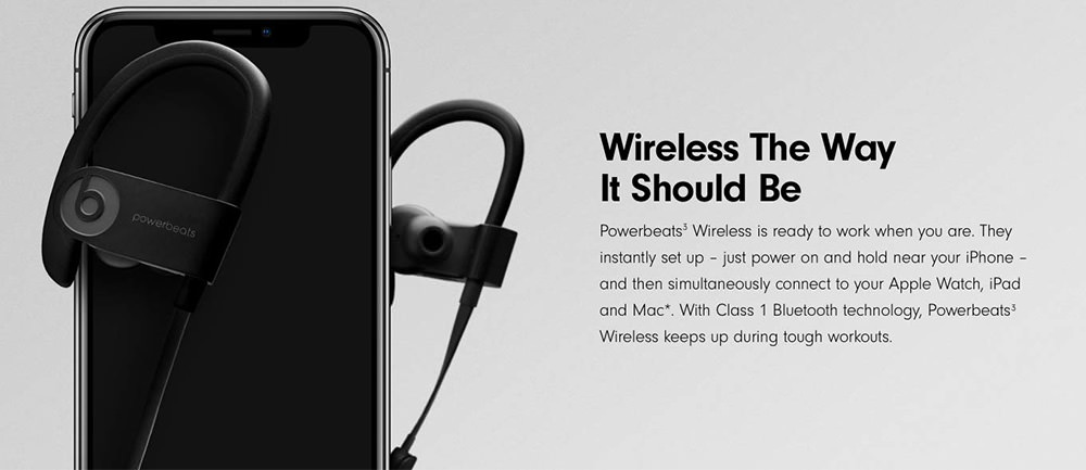 cheap beats powerbeats 3 wireless headset