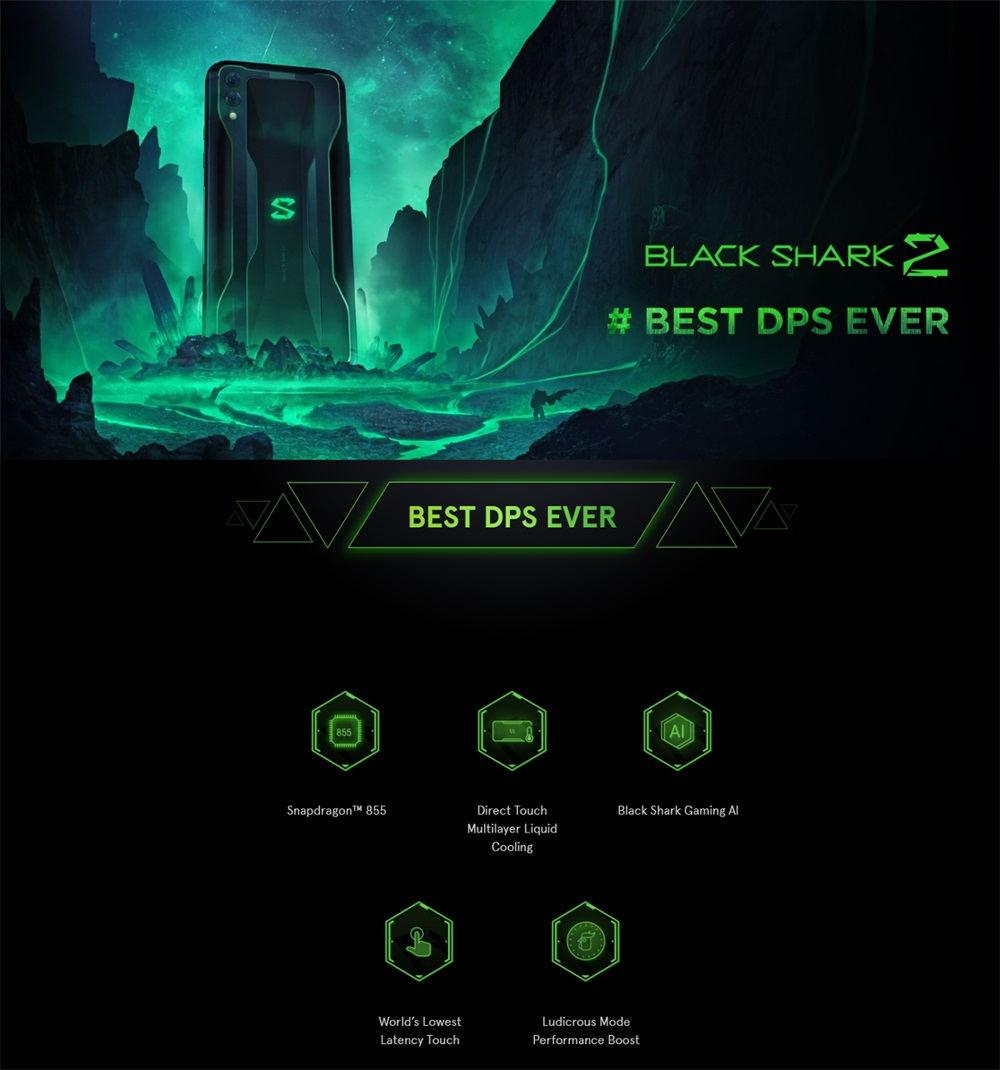 black shark 2 8gb/128gb global version
