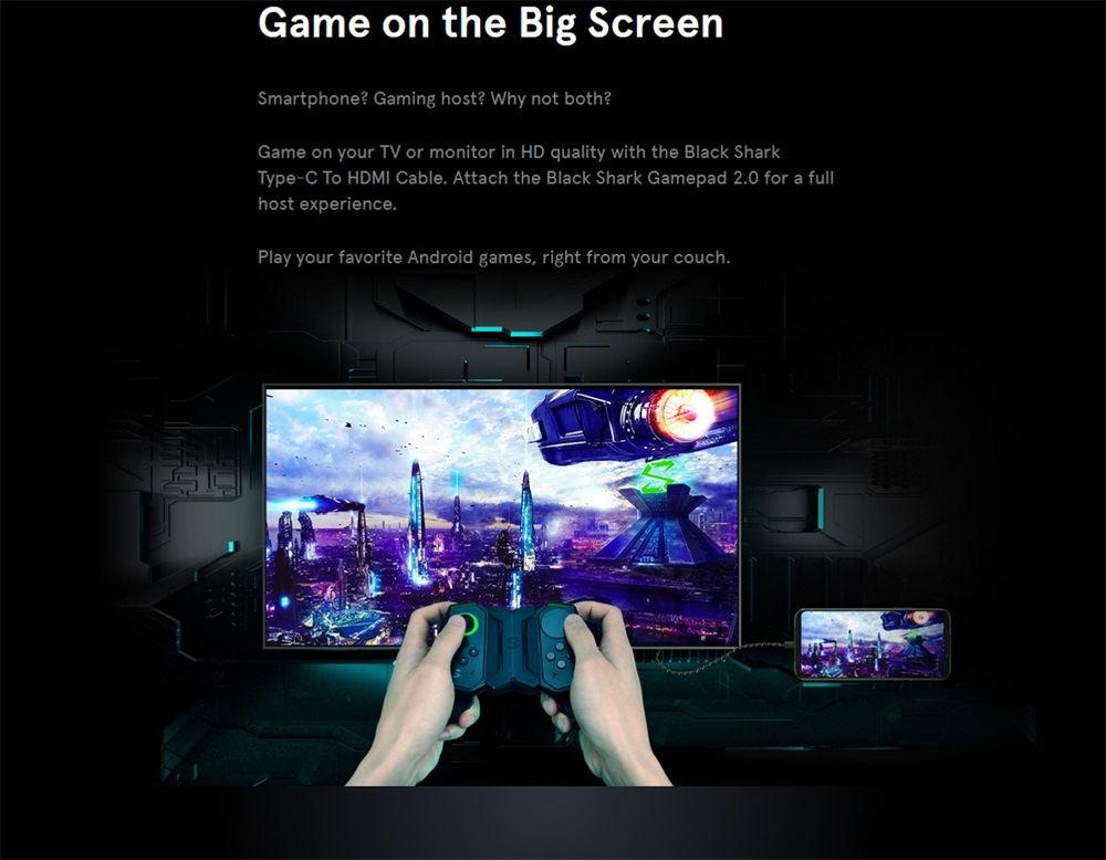 black shark 2 8gb/128gb smartphone global version