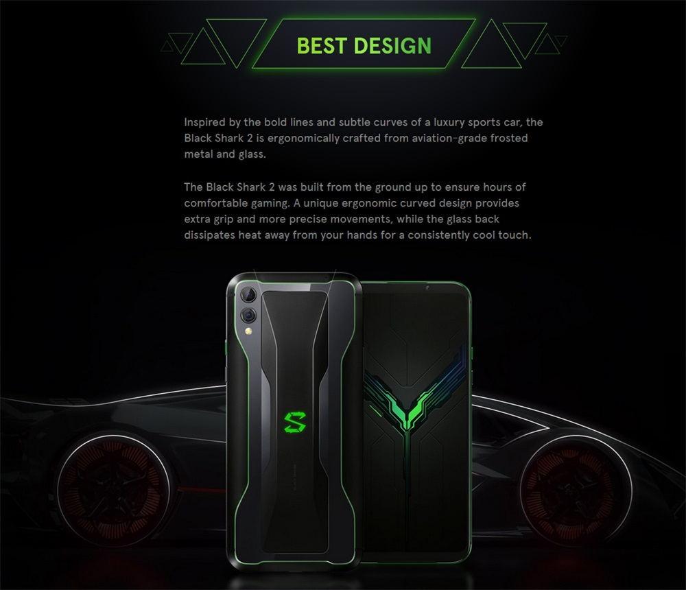 buy black shark 2 smartphone 8gb/128gb global version