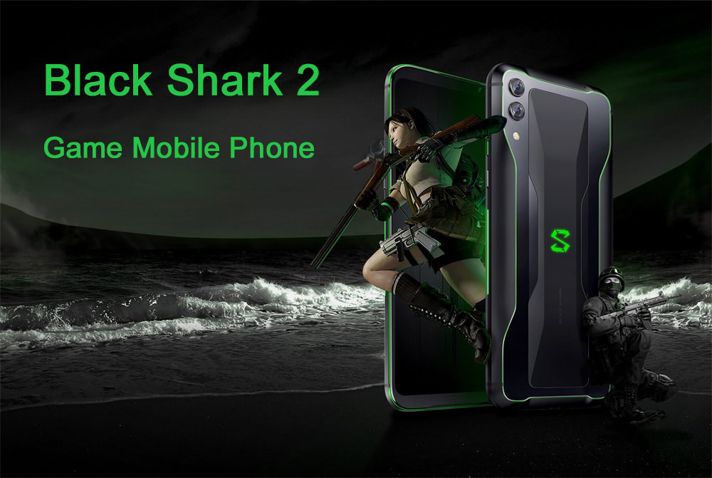 black shark 2 4g smartphone 8gb/128gb