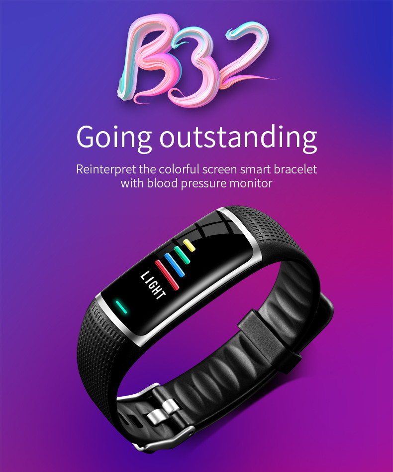 b32 digital bluetooth smart wristband