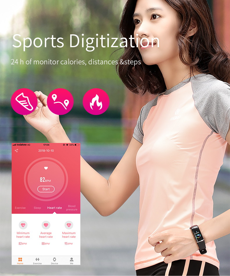 buy b32 digital smart wristband