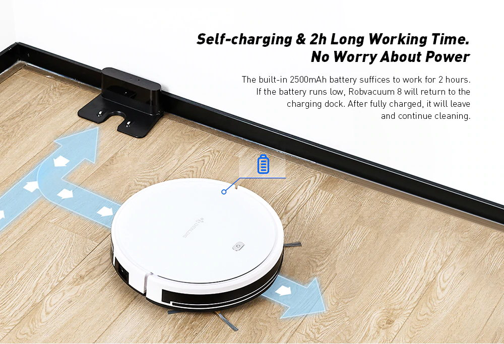 buy dealdig robvacuum 8 smart robot vacuum cleaner