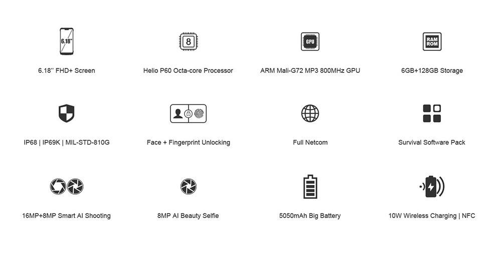 buy doogee s90 standard edition 4g smartphone
