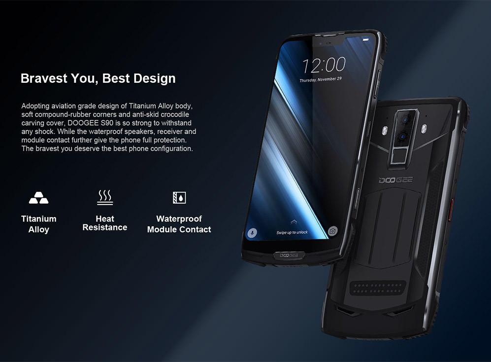 2019 doogee s90 standard edition 4g smartphone