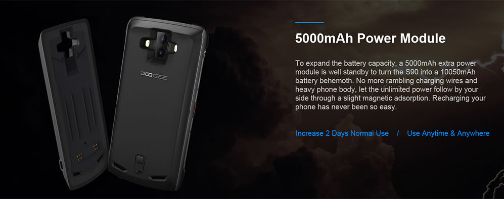 doogee s90 standard edition 4g smartphone for sale