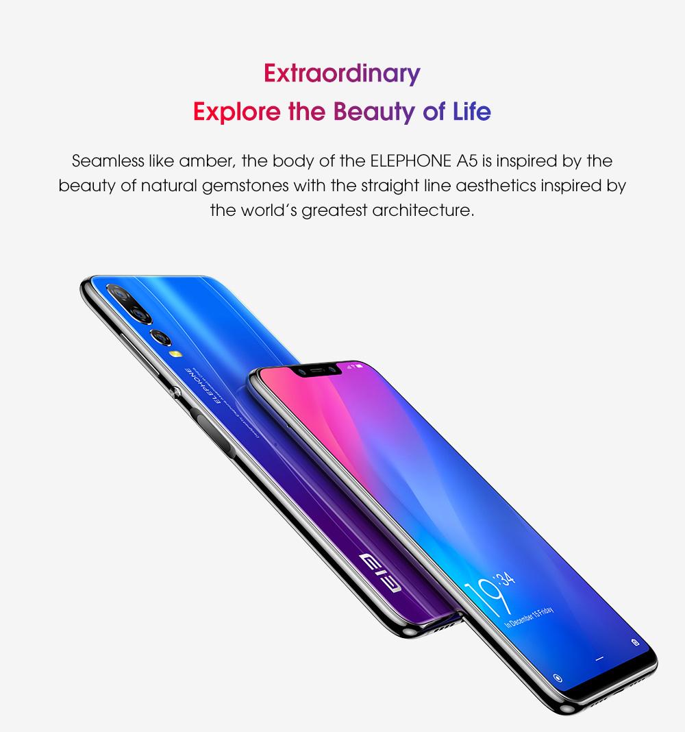 buy elephone a5 4g smartphone 6gb/128gb