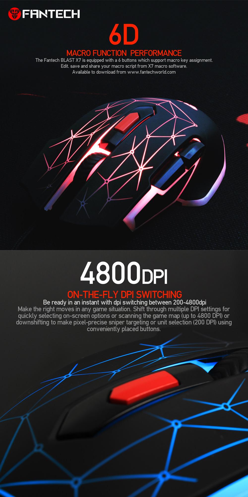 fantech x7 mouse online