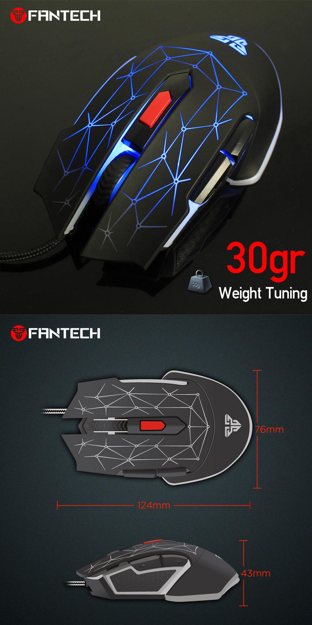 fantech x7 macro rgb mouse