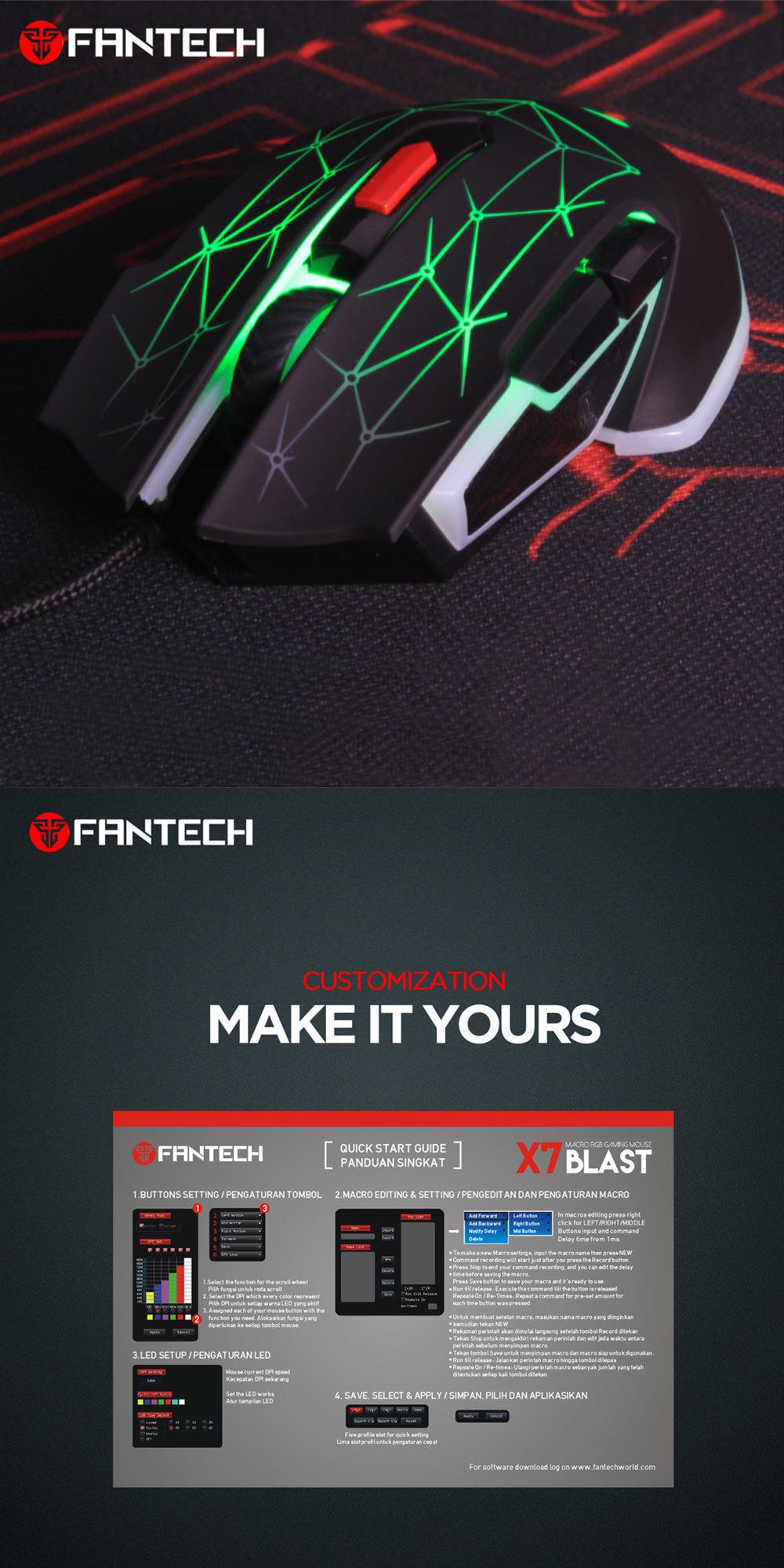 fantech x7 rgb mouse