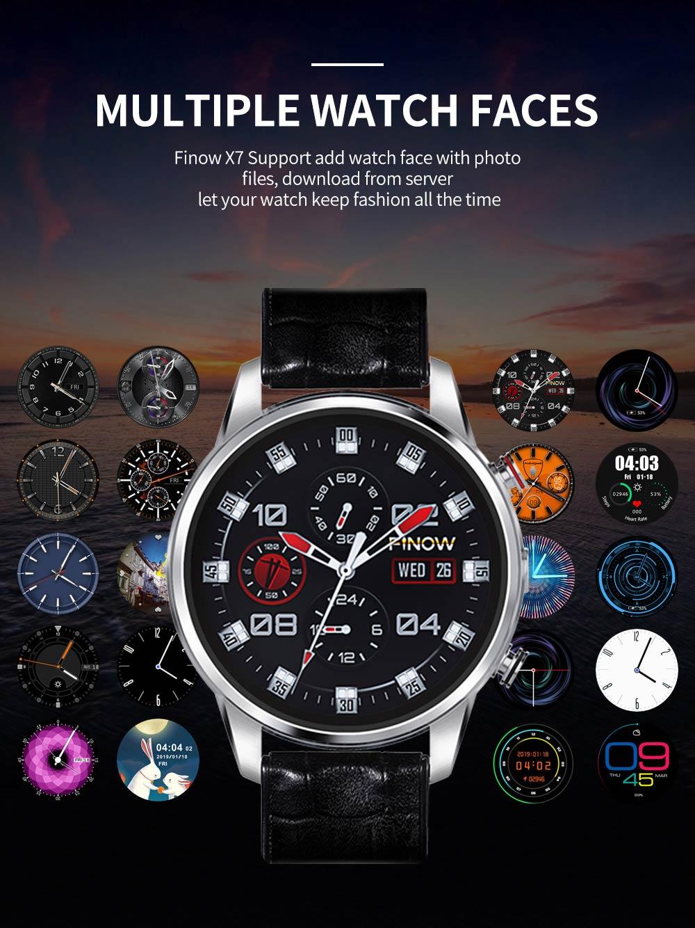 new finow x7 smartwatch phone