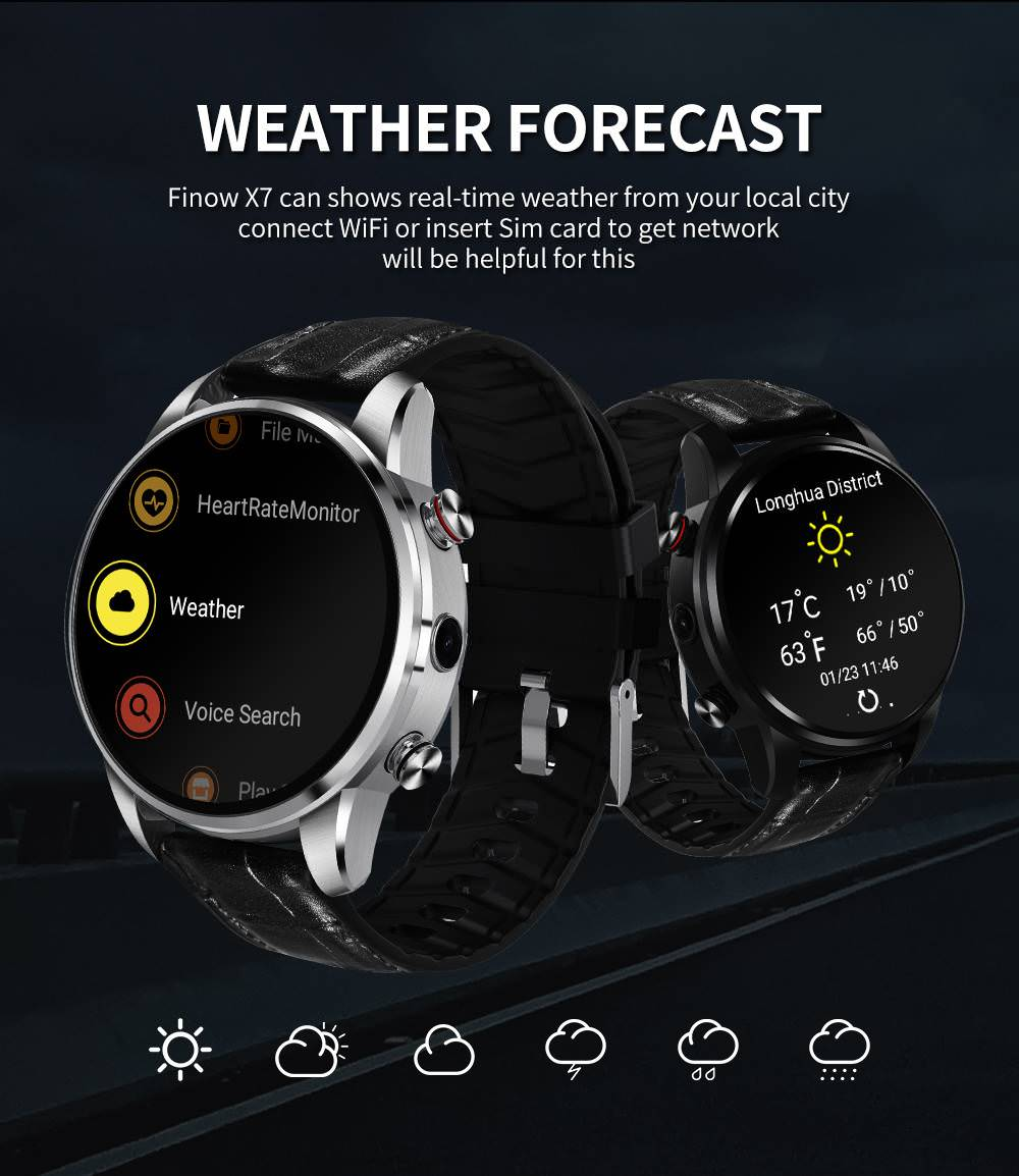 finow x7 android smartwatch