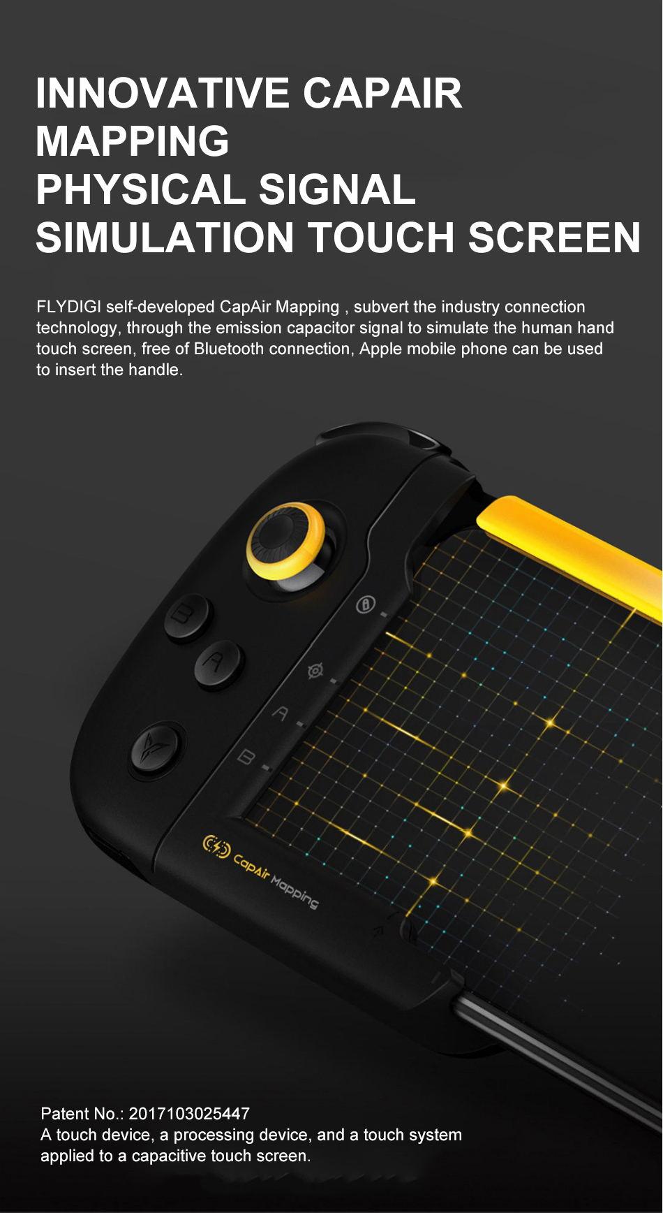 2019 xiaomi flydigi one-handed gamepad