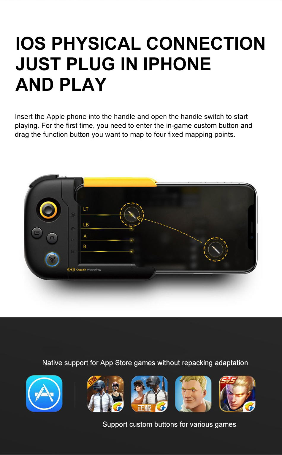new xiaomi flydigi one-handed gamepad