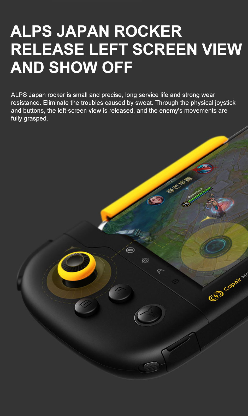 xiaomi flydigi one-handed gamepad for sale