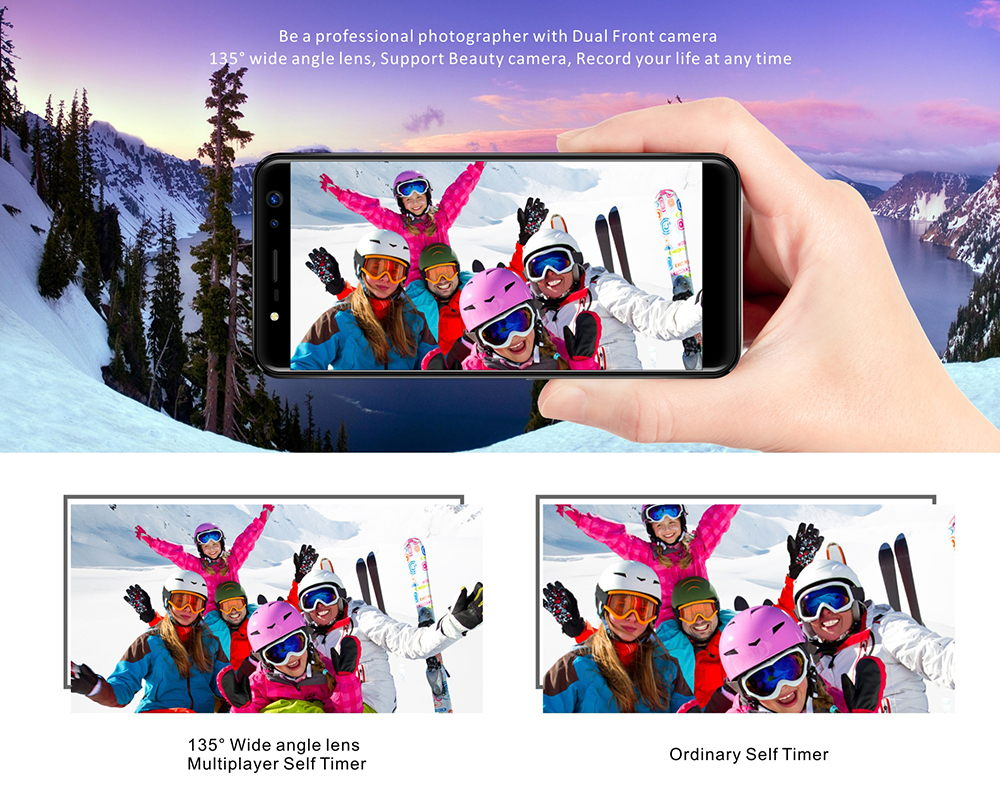 buy geecoo selfie 1 4g smartphone