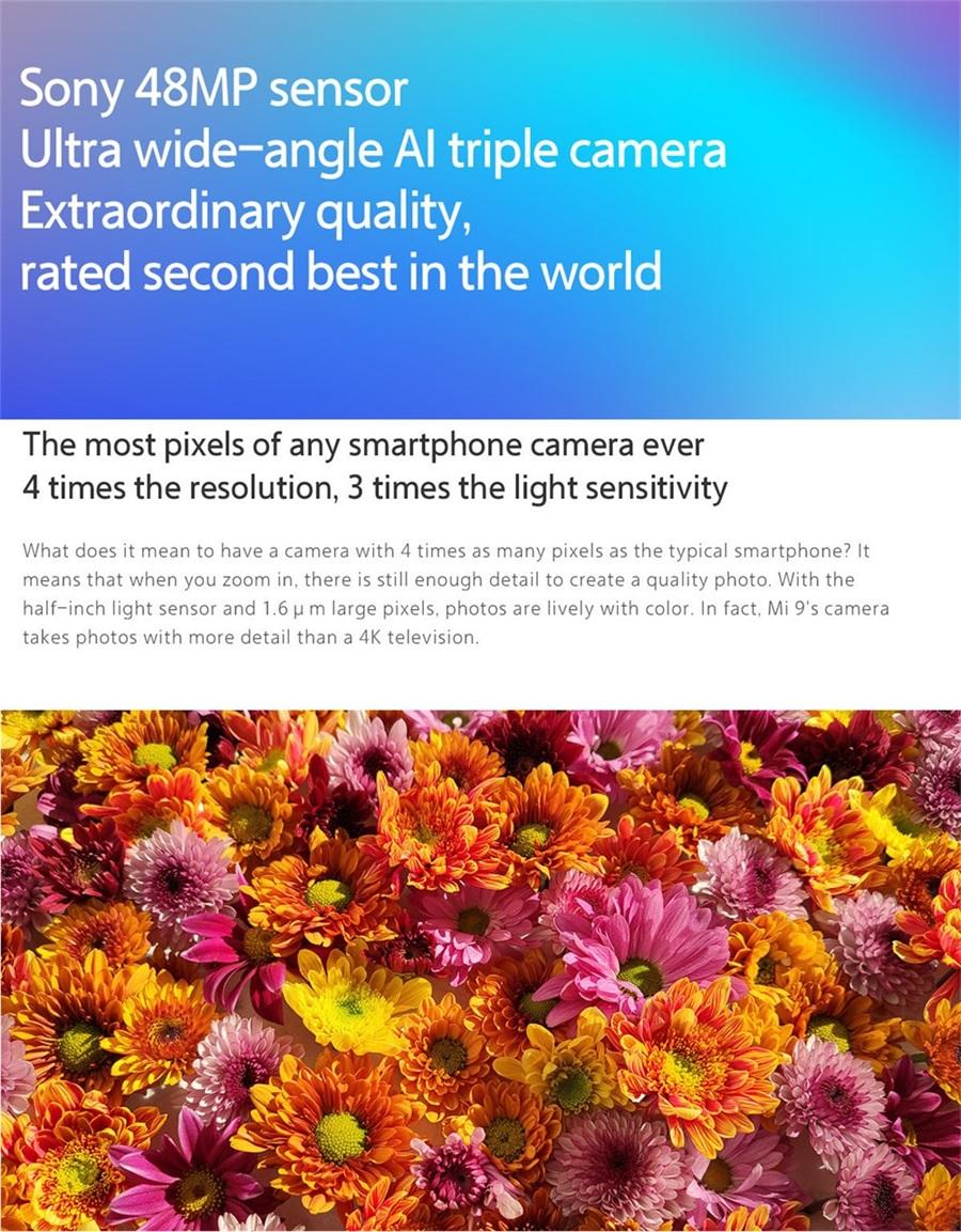 buy xiaomi mi 9 4g smartphone 6gb
