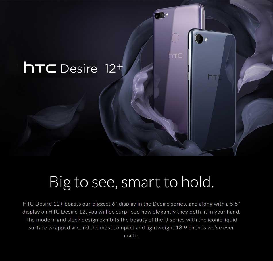 htc desire 12 plus 4g smartphone