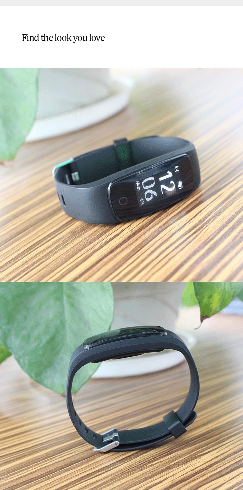 id107 plus hr smart bluetooth bracelet for sale