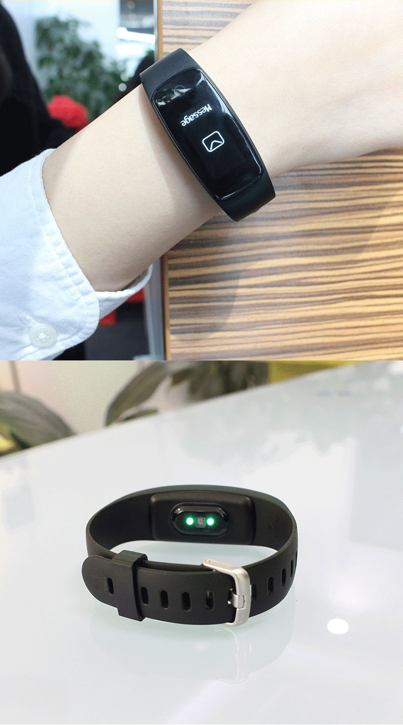 2019 id107 plus hr smart bluetooth bracelet