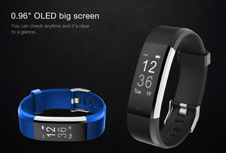 new id115hr plus smart bracelet
