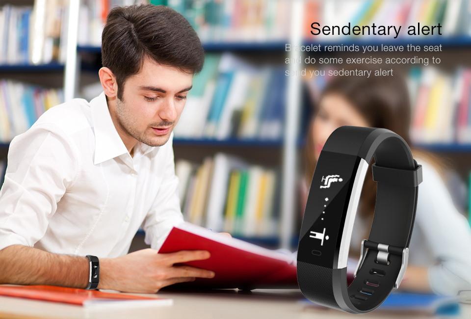 id115hr plus smart bluetooth bracelet for sale