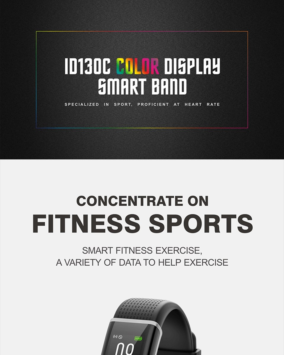 id130c bluetooth wristband