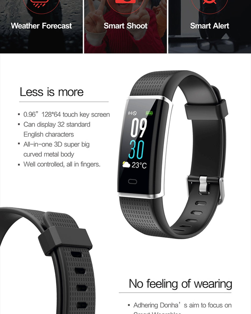 buy id130c smart bluetooth bracelet
