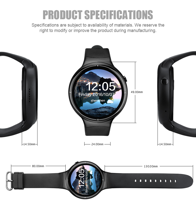 new iqi i4 plus watch