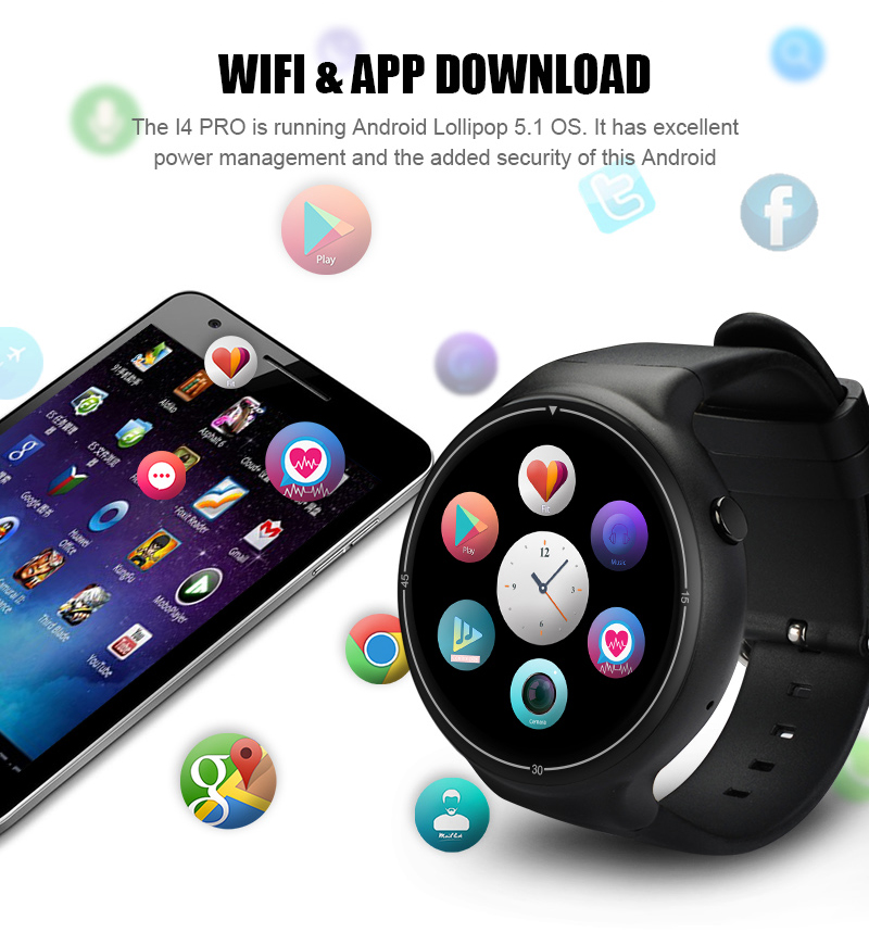 iqi i4 plus 3g smartwatch for sale