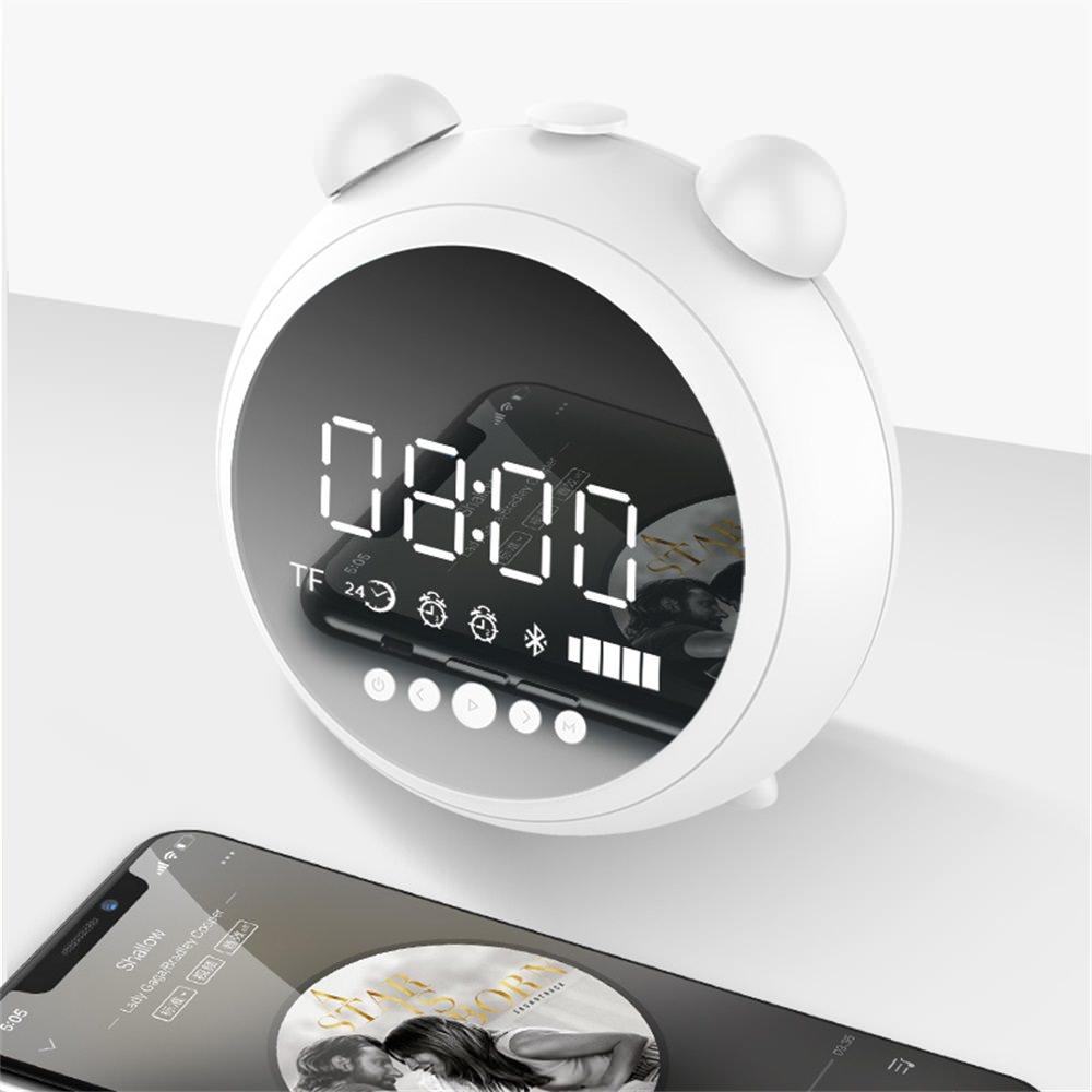 jkr-8100 clock bluetooth speaker