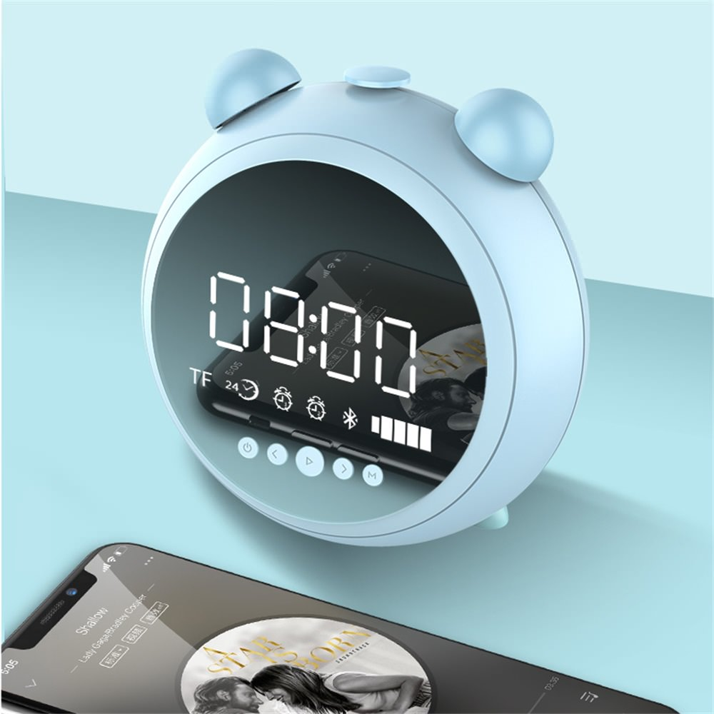 buy jkr-8100 clock bluetooth speaker