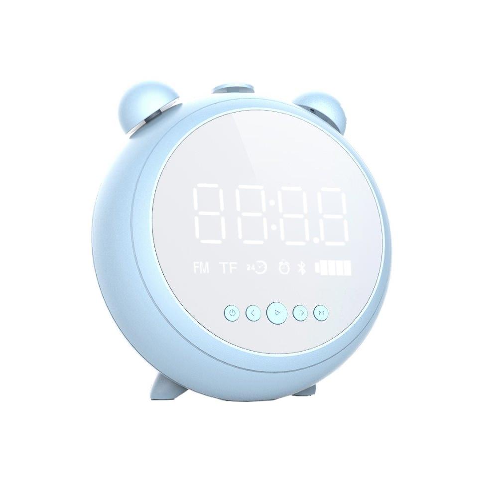 jkr-8100 alarm clock bluetooth speaker