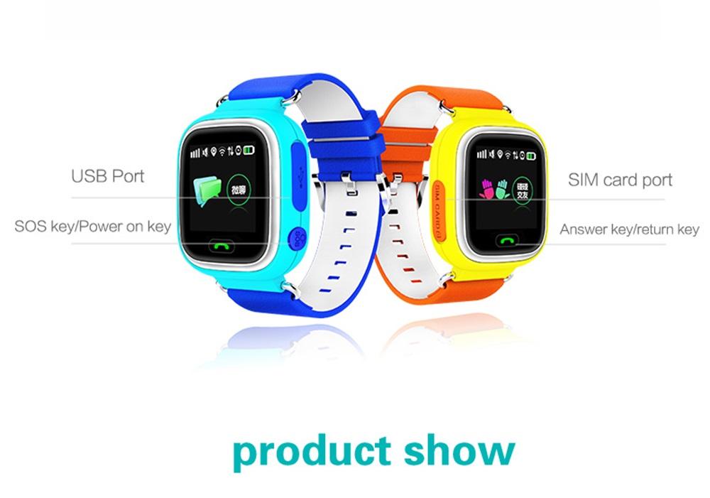 Q90 niños GPS reloj inteligente: conozca ubicación de sus hijos en cualquier momento Kids-GPS-Smartwatch-16