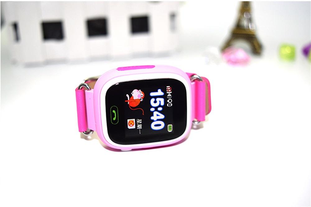 q90 kids color screen smartwatch