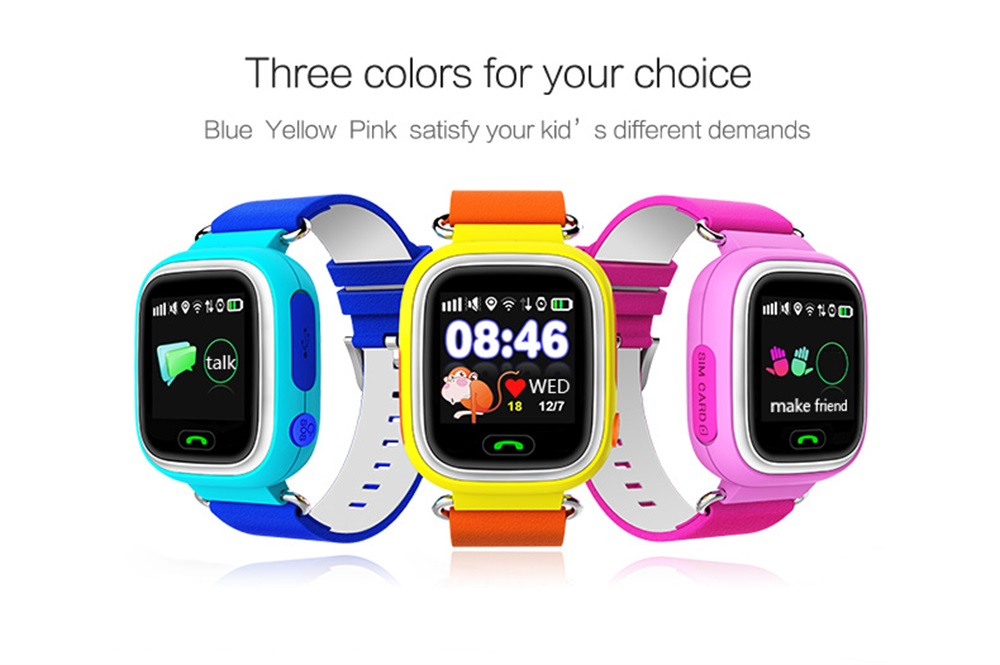 q90 kids gps smartwatch for sale