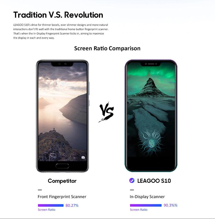 new leagoo s10 4g smartphone