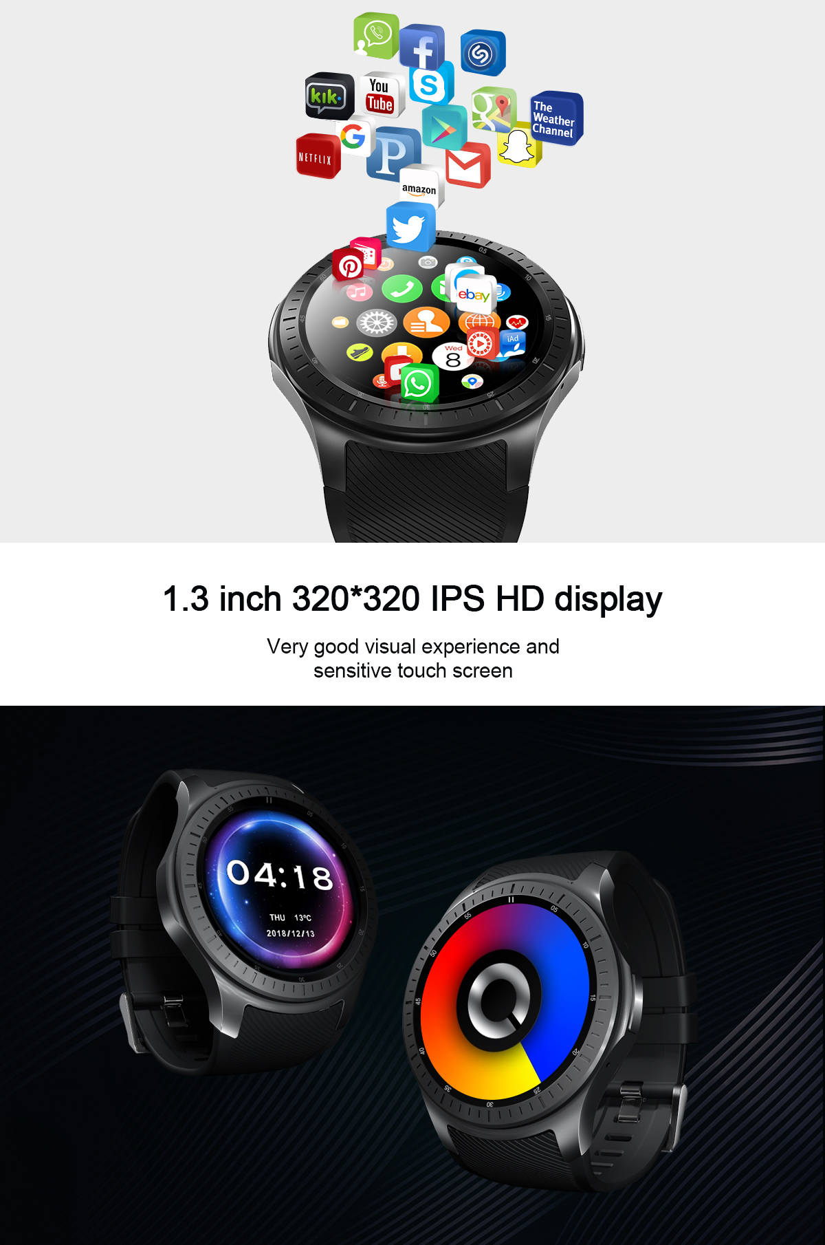 lemfo lf25 4g smartwatch for sale