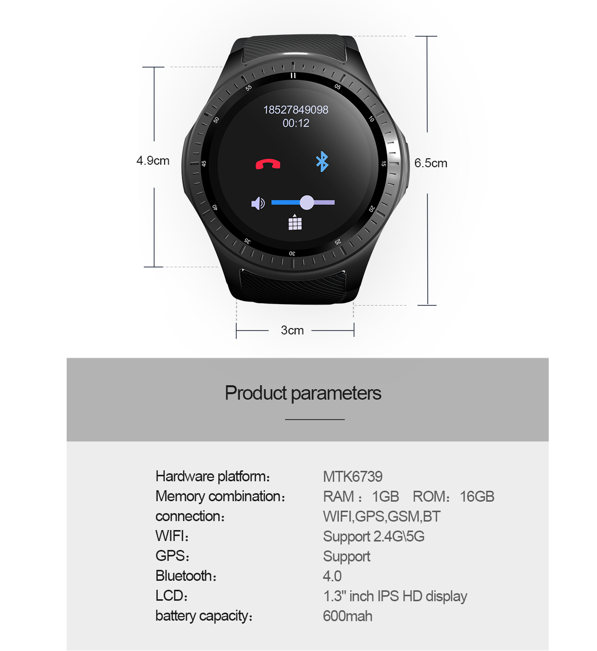lemfo lf25 android smartwatch