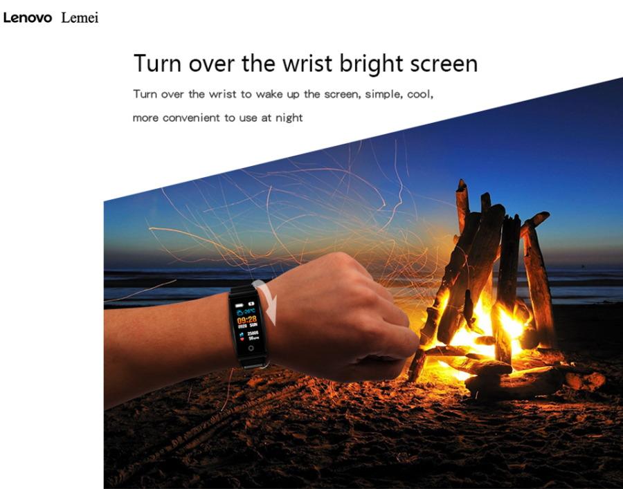 new lenovo lemei rhb01 smart bracelet