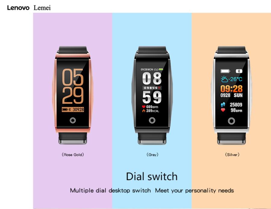 lenovo lemei rhb01 bluetooth wristband