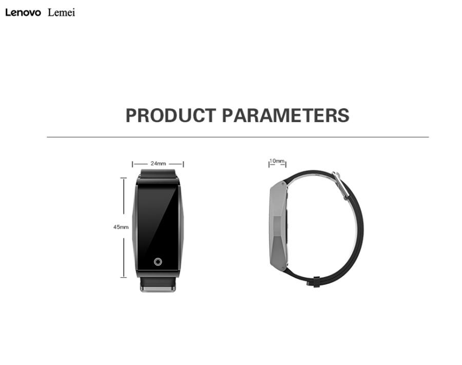 lenovo lemei rhb01 bluetooth wristband for sale