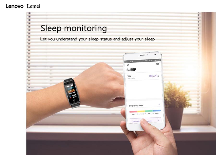 new lenovo lemei rhb01 smart wristband