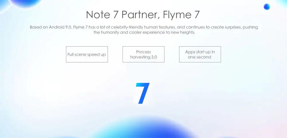 meizu note 9 smartphone 128gb