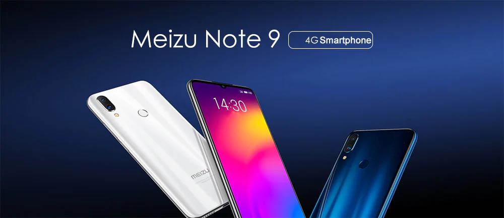 meizu note 9 4g smartphone 6gb/64gb
