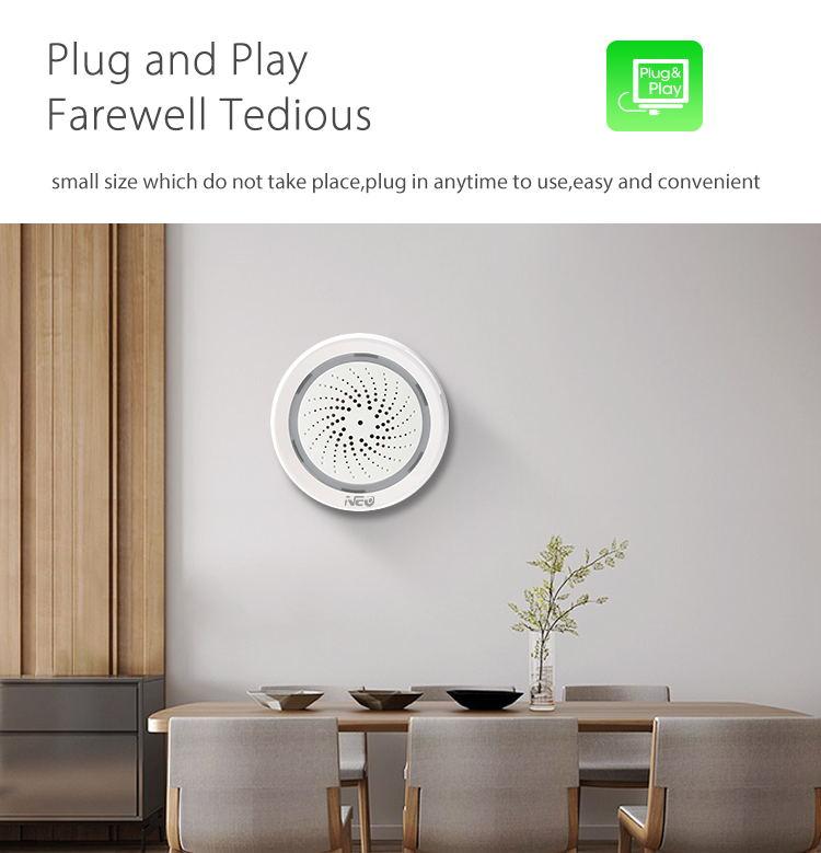 neo wifi siren alarm sensor 2019