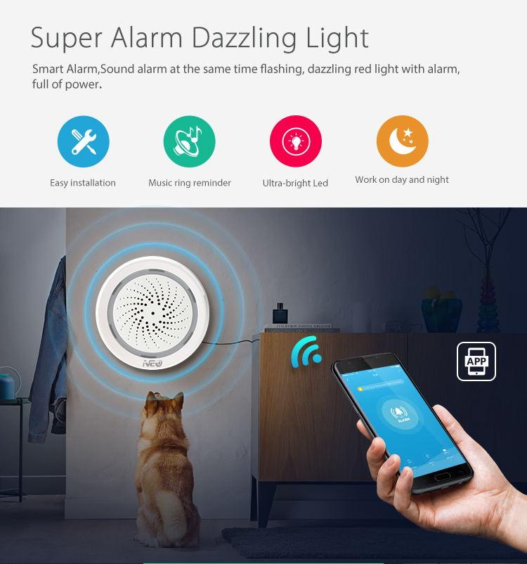 buy neo wifi siren alarm sensor