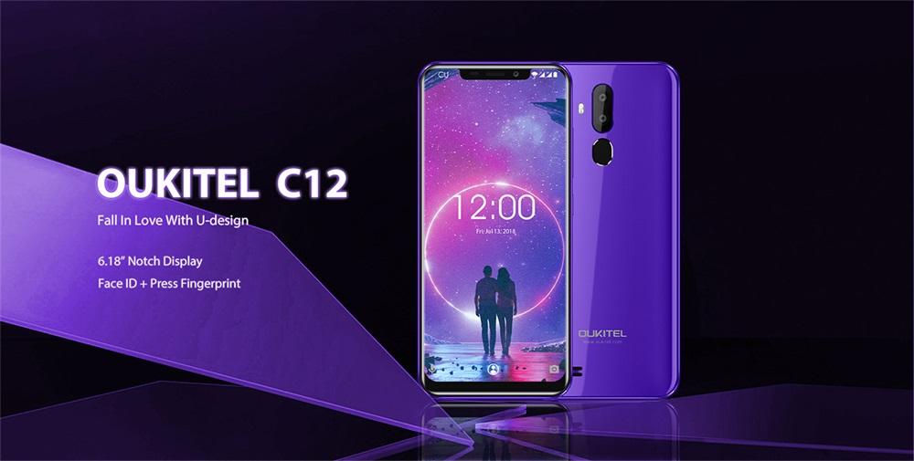 oukitel c12 3g smartphone
