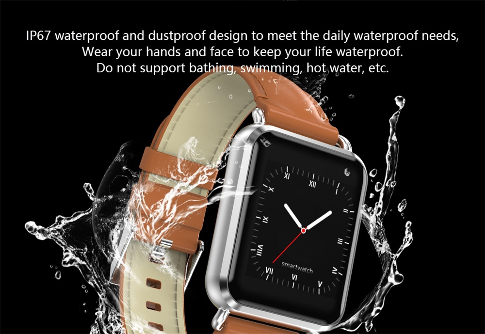 q13 waterproof smartwatch